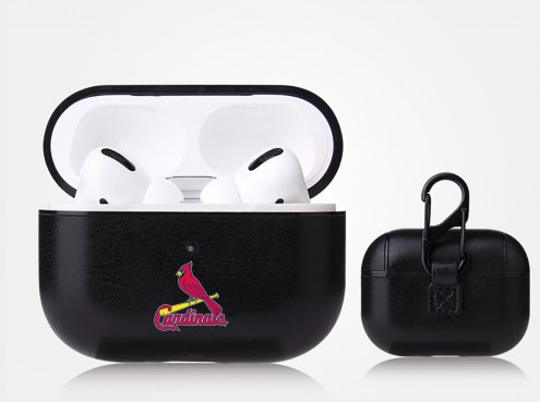St. Louis Cardinals Fan Brander Apple Air Pod Pro Leather Case