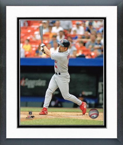 St. Louis Cardinals Fernando Vina Action Framed Photo