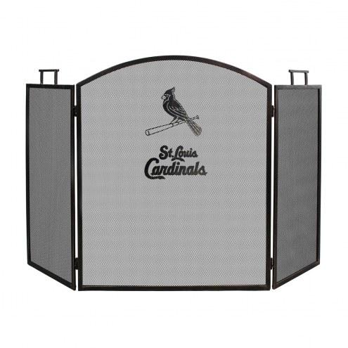 St. Louis Cardinals Fireplace Screen