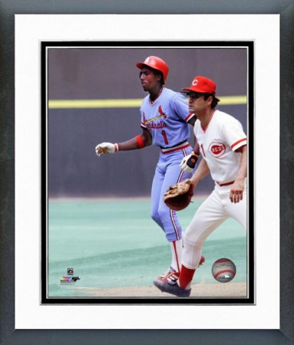 St. Louis Cardinals Gary Templeton Action Framed Photo
