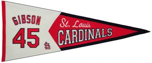 St. Louis Cardinals Gibson Legends Pennant