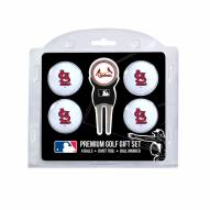 St. Louis Cardinals Golf Ball Gift Set