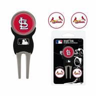 St. Louis Cardinals Golf Divot Tool Pack