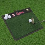 St. Louis Cardinals Golf Hitting Mat
