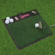 St. Louis Cardinals Golf Hitting Mat