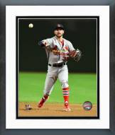 St. Louis Cardinals Greg Garcia Action Framed Photo