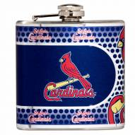 St. Louis Cardinals Hi-Def Stainless Steel Flask