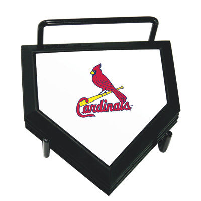 St. Louis Cardinals Home Plate Coaster Set
