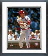 St. Louis Cardinals Jack Clark Batting Framed Photo