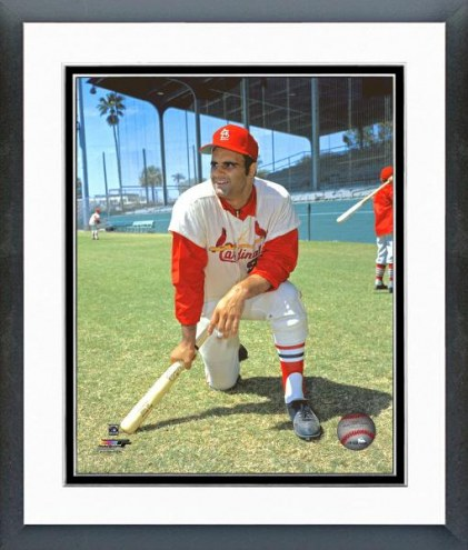 St. Louis Cardinals Joe Torre Posed Framed Photo