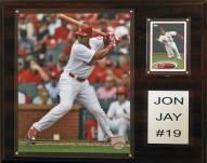 "St. Louis Cardinals Jon Jay 12"" x 15"" Player Plaque"