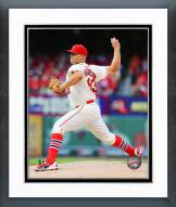 St. Louis Cardinals Justin Masterson Action Framed Photo
