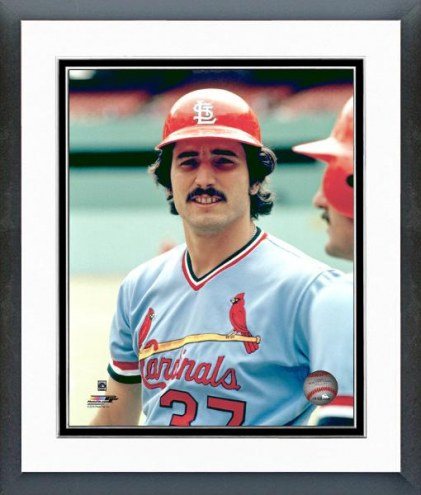 St. Louis Cardinals Keith Hernandez Posed Framed Photo