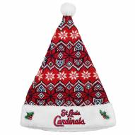 St. Louis Cardinals Knit Santa Hat