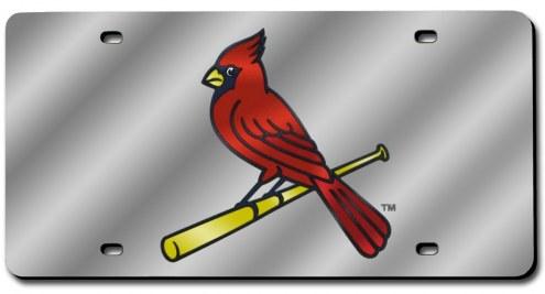 St. Louis Cardinals Laser Cut License Plate