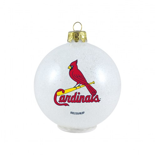 St. Louis Cardinals LED Color Changing Ball Ornament
