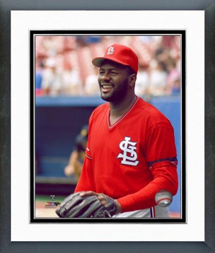 St. Louis Cardinals Lee Smith Posed Framed Photo