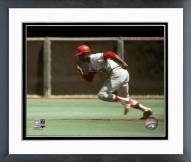 St. Louis Cardinals Lou Brock Action Framed Photo