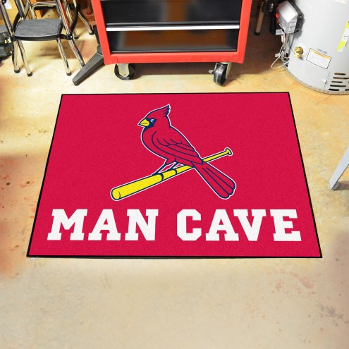 St. Louis Cardinals Man Cave All-Star Rug