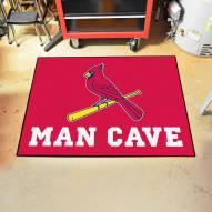 St. Louis Cardinals Man Cave All-Star Rug