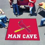 St. Louis Cardinals Man Cave Tailgate Mat