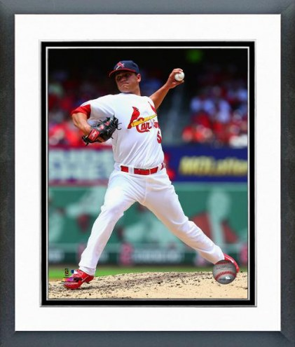 St. Louis Cardinals Marco Gonzales Action Framed Photo