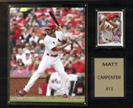 "St. Louis Cardinals Matt Carpenter 12"" x 15"" Player Plaque"