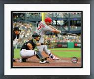 St. Louis Cardinals Matt Holliday Action Framed Photo