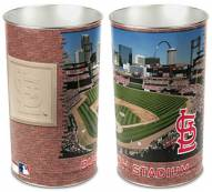 St. Louis Cardinals Metal Wastebasket