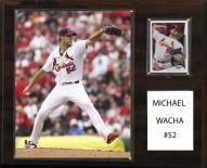 "St. Louis Cardinals Michael Wacha 12"" x 15"" Player Plaque"