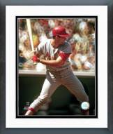St. Louis Cardinals Mike Shannon Action Framed Photo