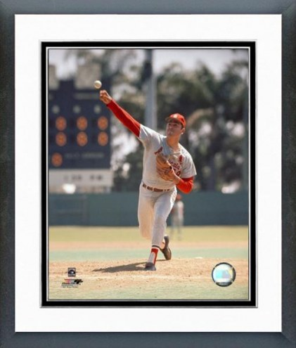 St. Louis Cardinals Mike Torrez Action Framed Photo