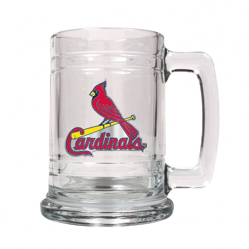 St. Louis Cardinals MLB 2-Piece Glass Tankard Beer Mug Set