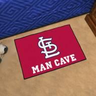St. Louis Cardinals Man Cave Starter Mat