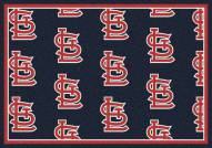 St. Louis Cardinals MLB Repeat Area Rug