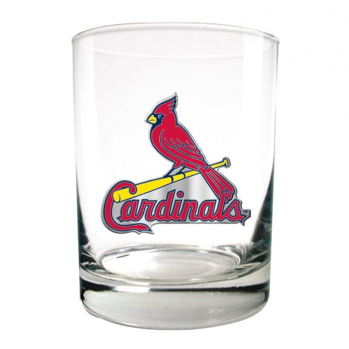 St. Louis Cardinals MLB 2-Piece 14 Oz. Rocks Glass Set