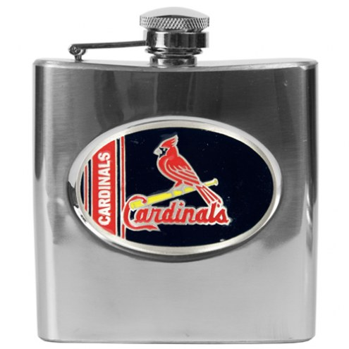 St. Louis Cardinals MLB 6 Oz. Stainless Steel Hip Flask
