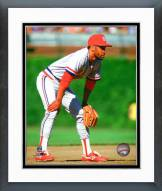 St. Louis Cardinals Ozzie Smith 1987 Action Framed Photo