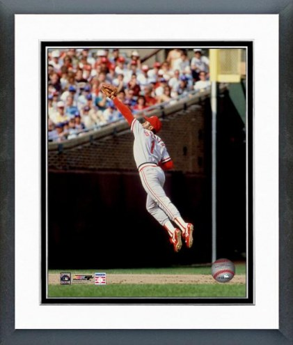St. Louis Cardinals Ozzie Smith Fielding Action Framed Photo