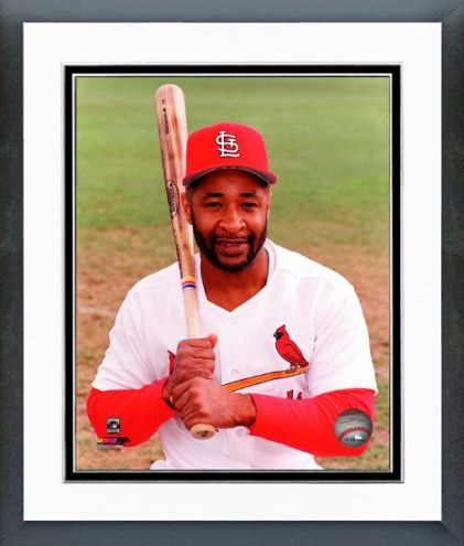 St. Louis Cardinals Ozzie Smith Posed Framed Photo