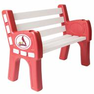 St. Louis Cardinals Park Bench