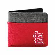 St. Louis Cardinals Pebble Bi-Fold Wallet