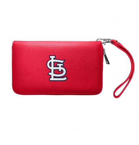 St. Louis Cardinals Pebble Organizer Wallet