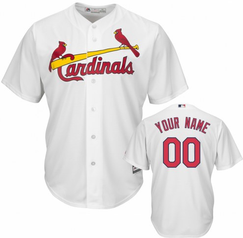 St. Louis Cardinals Personalized Replica Home Baseball Jersey