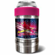 St. Louis Cardinals Pink 12 oz. Locker Vacuum Insulated Can Holder