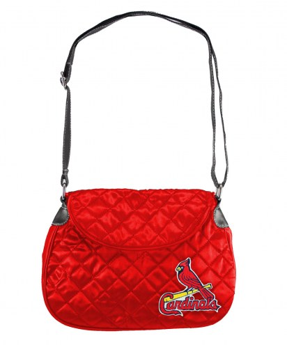 St. Louis Cardinals Quilted Saddle Bag