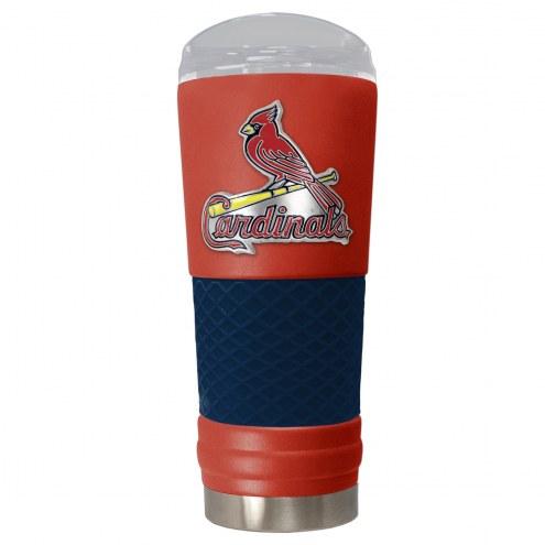 St. Louis Cardinals Red 24 oz. Powder Coated Draft Tumbler