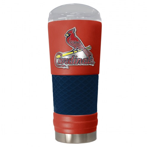 St. Louis Cardinals Red 24 oz. Powder Coated Draft Tumbler