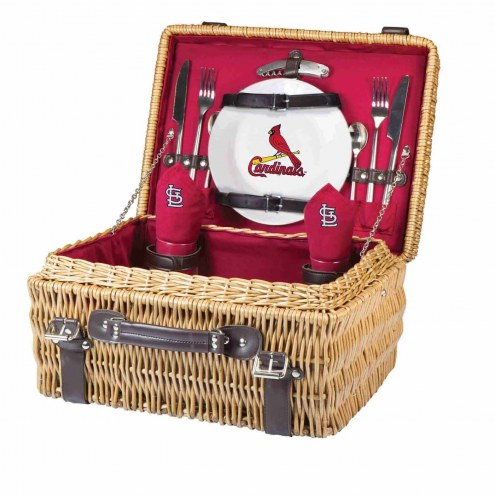 St. Louis Cardinals Red Champion Picnic Basket