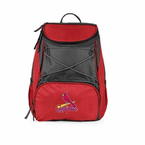 St. Louis Cardinals Red PTX Backpack Cooler